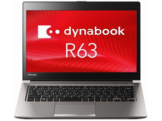 MS Office H&B付きCore i3搭載13.3型dynabook R63/B PR63BGAA637QD8H